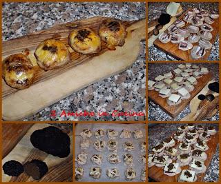 Filetto di maiale con pecorino e tartufo