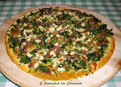 Pizza Broccoletti, Salsiccia e Grok