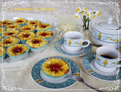 Crostatine alla Marmellata e Ananas