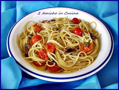 Spaghetti al Tonno con Pomodorini e Alici Piccanti, Nuova Collaborazione