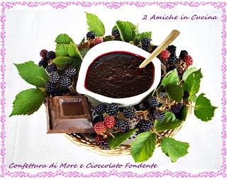 Confettura di More e Cioccolato Fondente