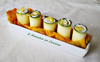 Rotolini di Zucchine e Robiola