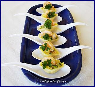 Conchiglie Zucchine e Gamberetti