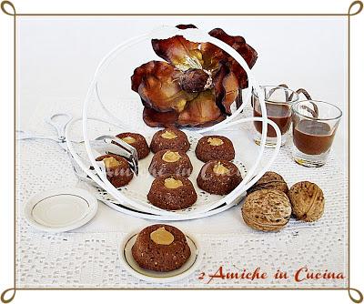 Biscotti di Farro e Noci con Crema Nocina