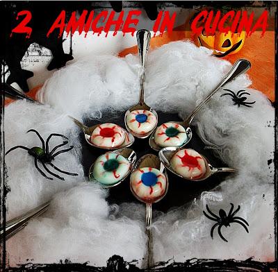 Bulbi Oculari (Ricetta Halloween)