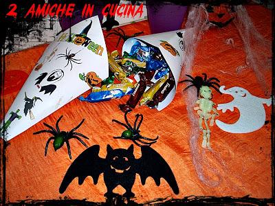 Coni Porta Dolcetti (Idea Creativa per Halloween)