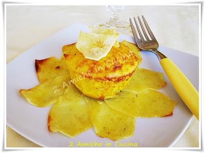 Fiore di Patate allo Zafferano con Cuore al Formaggio
