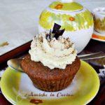 muffin al caffè con crema tiramisù