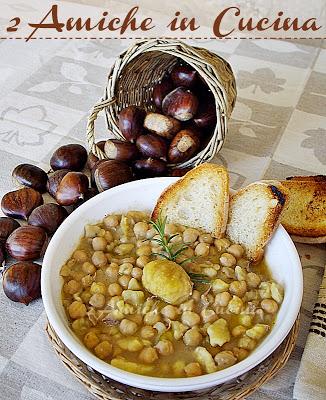 Zuppa di ceci e castagne e Grande Opportunità BergHOFF per Tutti Voi