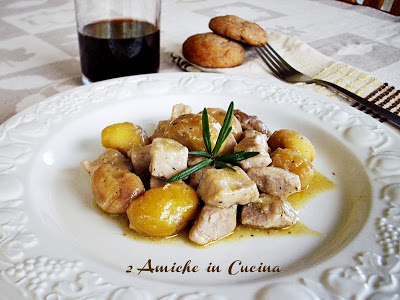 Bocconcini di Arista con Castagne