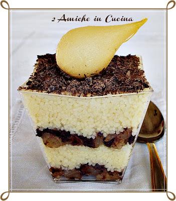 Couscous Pere e Cioccolato Fondente