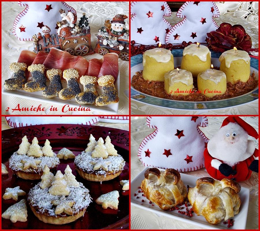 menu Natale buffet