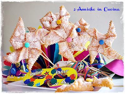 Girandole di Carnevale Fritte