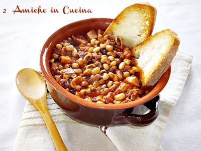 Zuppa di Fagiolina del Lago Trasimeno e Prosciutto