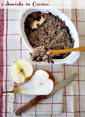 Rifatte Senza Glutine: Apple Pear Crisp