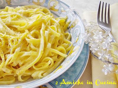 Tagliolini al Limone e Zafferano