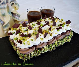 Mattonella ai Tre Cioccolati e Pistacchio