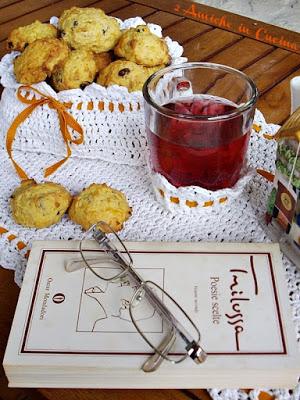 Biscotti alle Carote e Farro con Avena, Mandorle e Uvetta