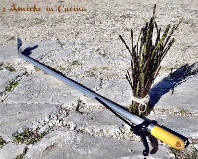 asparagi selvatici per tagliatelle saporite