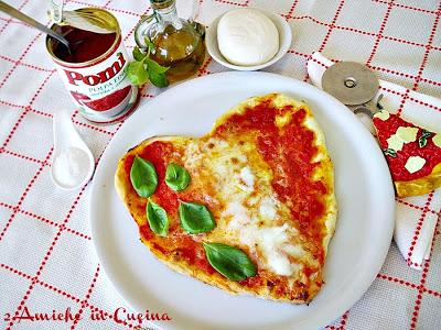 Pizza il Cuore d'Italia per Obiettivo Pomì