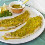 trota in salsa verde, ricetta tipica umbra
