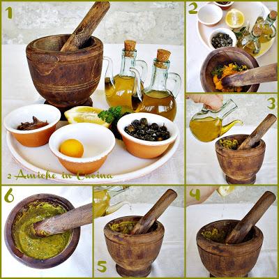 Come preparare la salsa verde per condire la trota