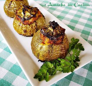 zucchine ripiene di tonno, ricetta estiva