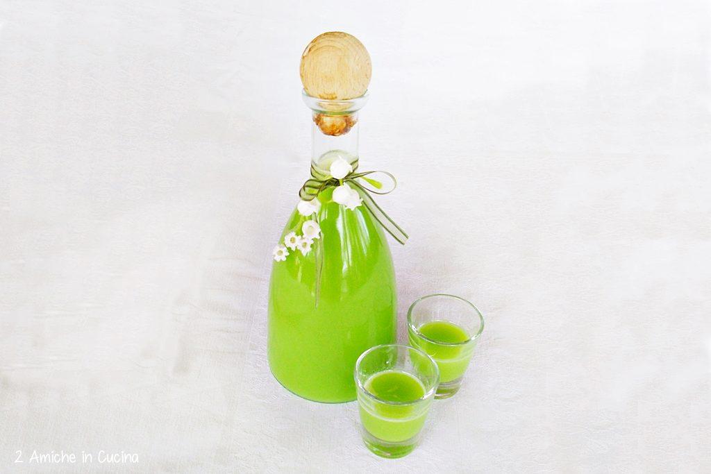 Liquore crema di menta