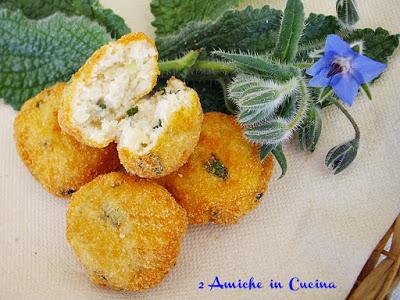 Crocchette di Pollo e Borragine