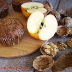tortine al grano saraceno mele e noci