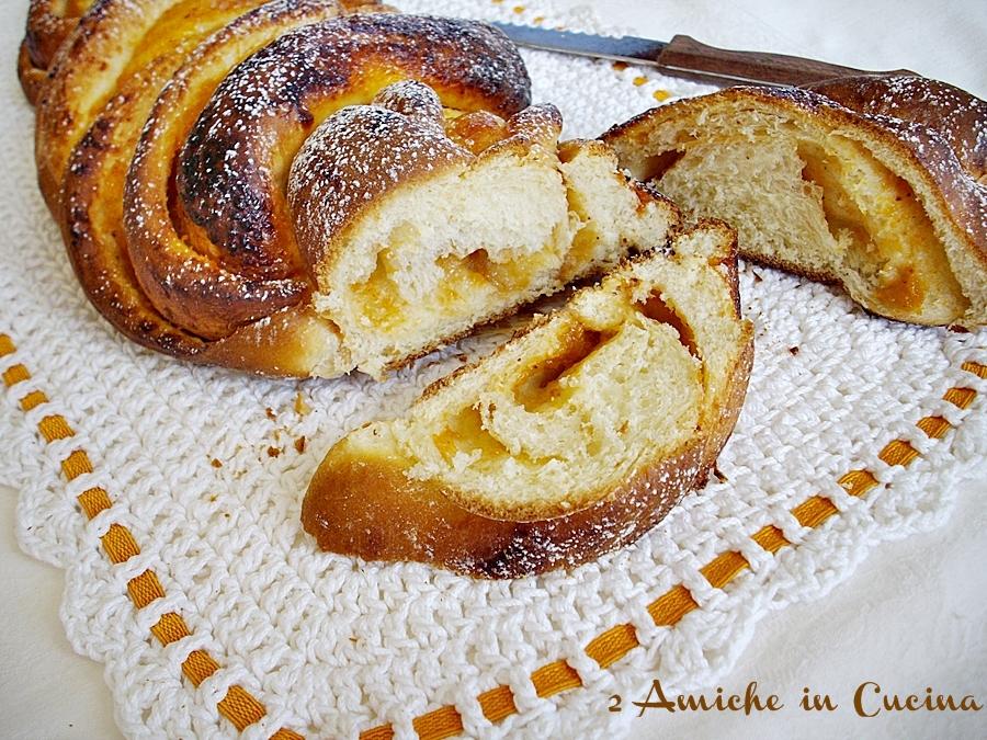 Re-Cake: Treccia con Confettura di Pesche