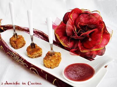 Bocconcini di Vitello con Salsa al Vino Rosso e Mele