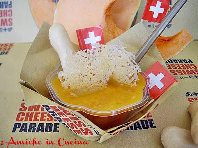 Frullato di Zucca al Curry con Cialde di Sbrinz