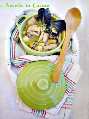 Zuppetta di Cavatelli Integrali con Cicerchie e Cozze