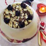 coppa alle amarene e crema tiramisù, ricetta golosa per San Valentino