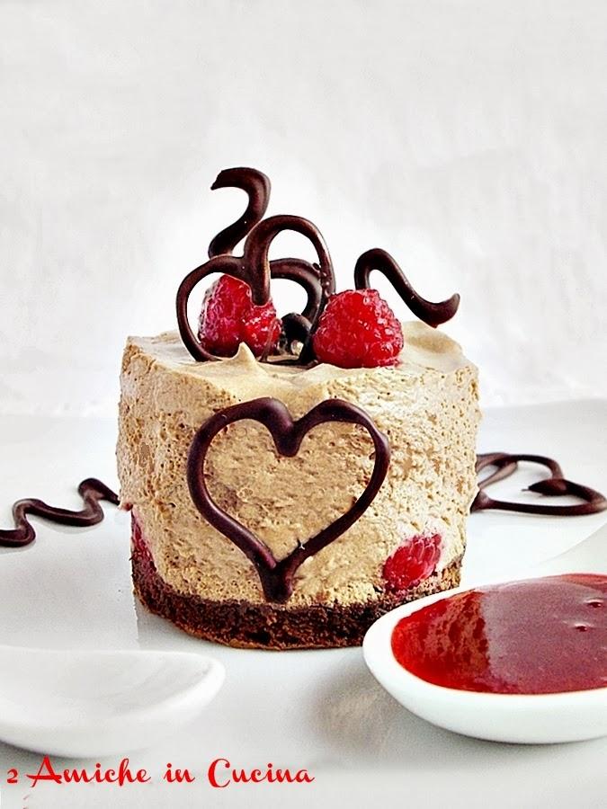 Torta al Cioccolato e Lamponi con Mousse al Cioccolato e Zenzero Per Re-cake