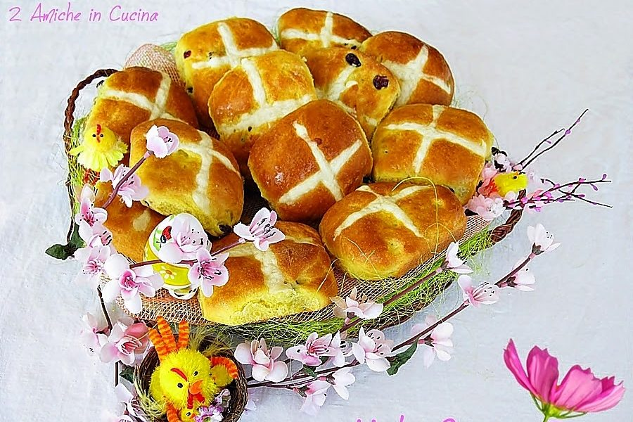 Hot Cross Buns per Re-cake