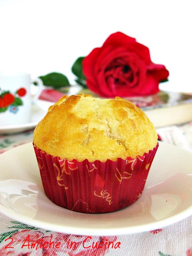 Muffin al Limone e Fragole