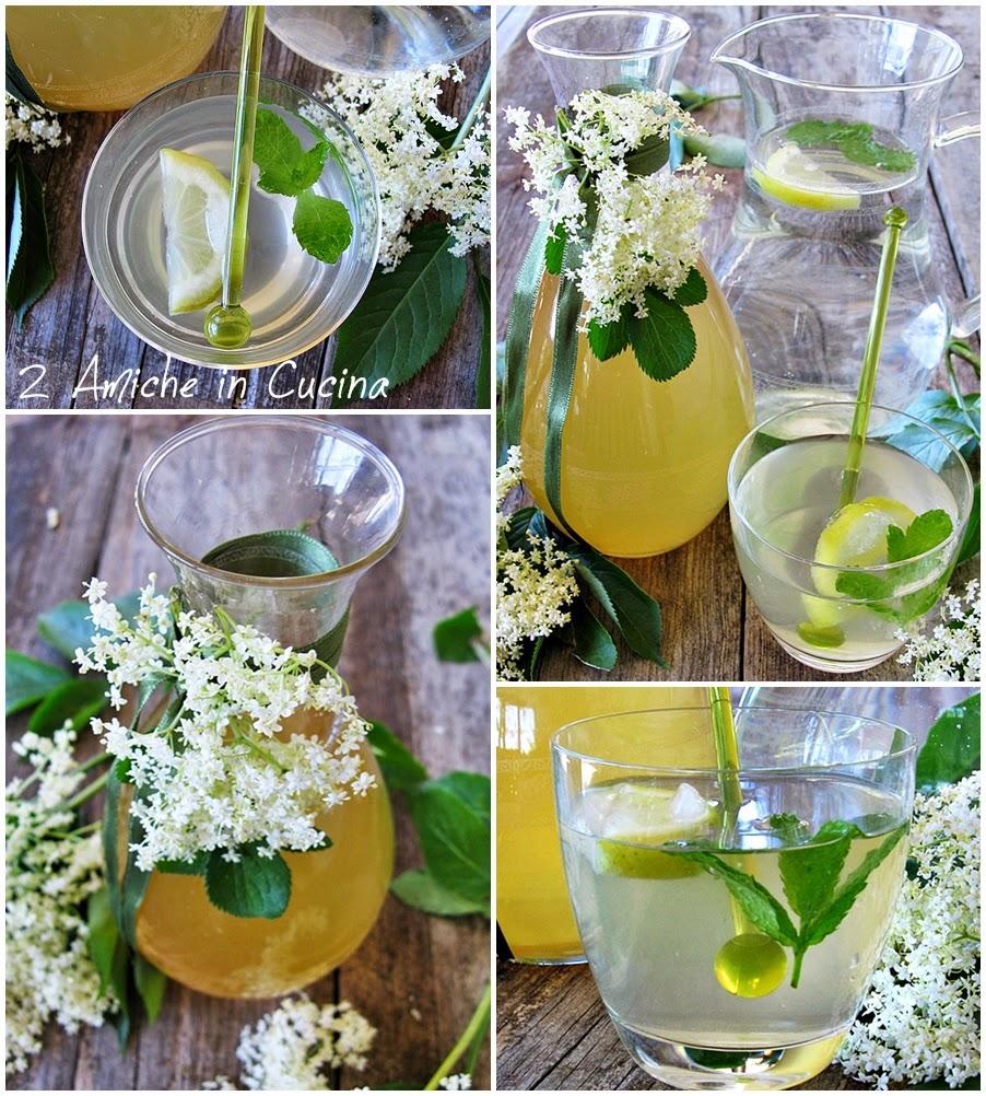 Sciroppo di fiori di sambuco e limone