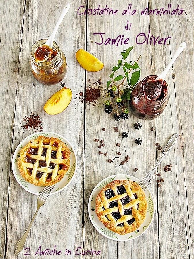 Crostatine alla Marmellata di Jamie Oliver