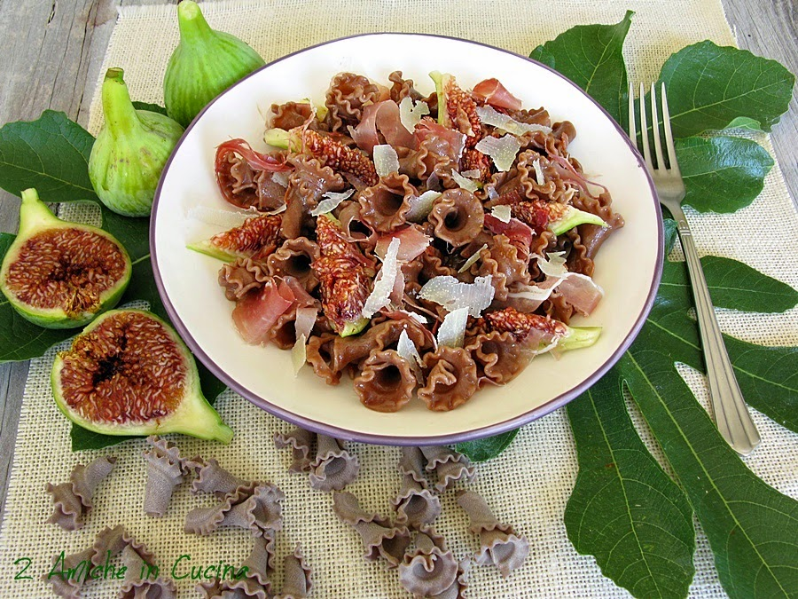 Gigli al Cacao Amaro con Prosciutto e Fichi