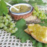 confettura di uva all'anice fatta in casa