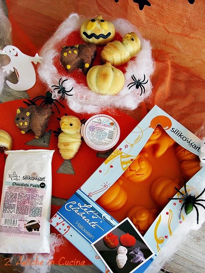 Stampi in silicone per dolcetti di Halloween