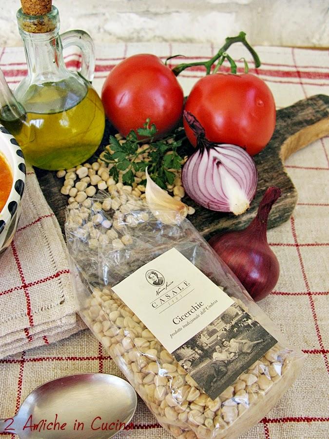 Le cicerchie, legume tipico de centro Italia