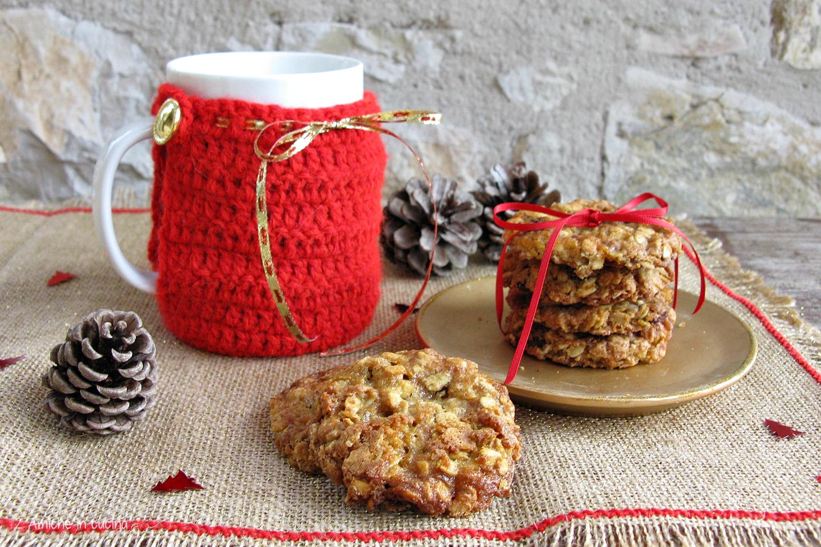 Cookies avena e uvetta di Jamie Oliver - 2 Amiche in Cucina