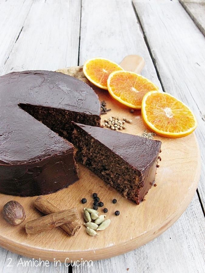 torta al cioccolato speziata