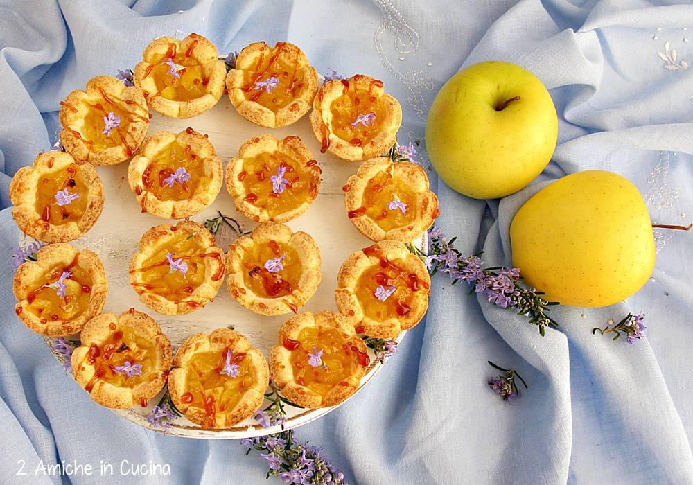 Fior di mela al rosmarino e caramello salato blog 1