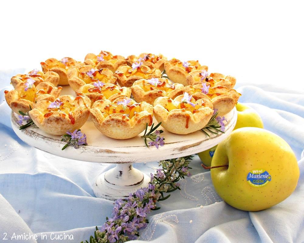 Fior di mela al rosmarino e caramello salato blog 3