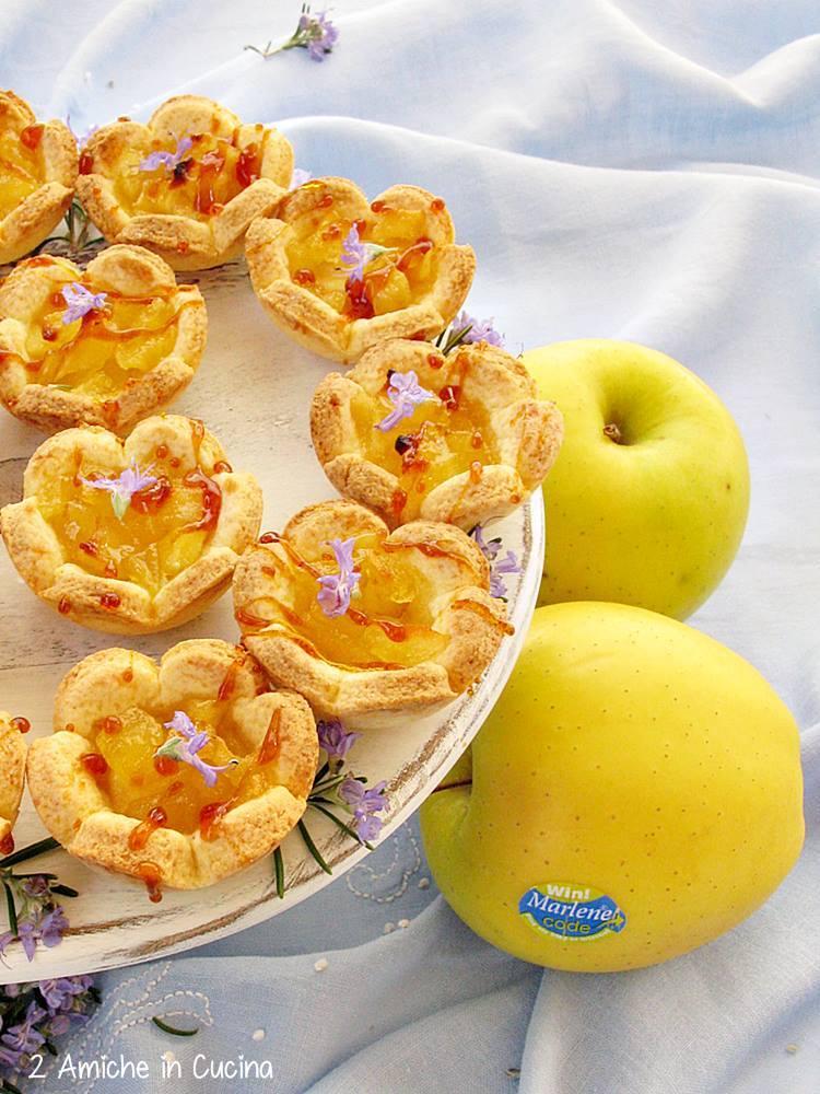 Fior di mela al rosmarino e caramello salato blog 4