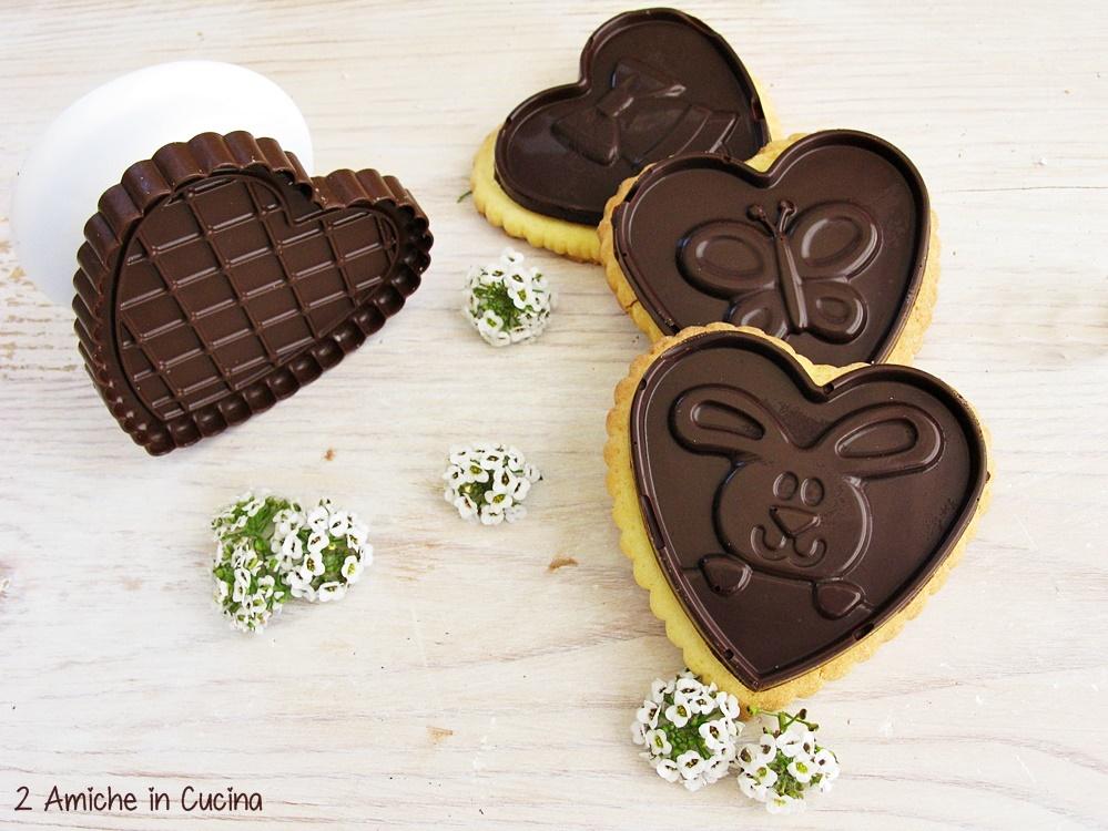 biscotti allo zafferano e cioccolato fondente